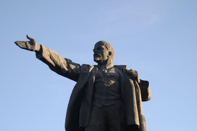 lenin statua fotografia royalty free