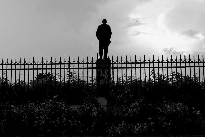 Lenin statua Rosja obraz stock