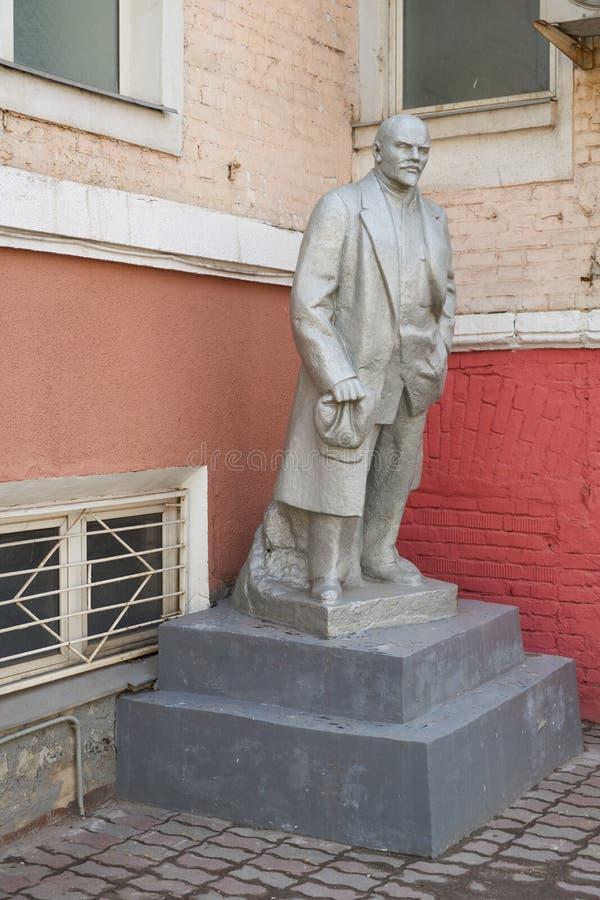 Lenin statua w Moskwa zdjęcie royalty free