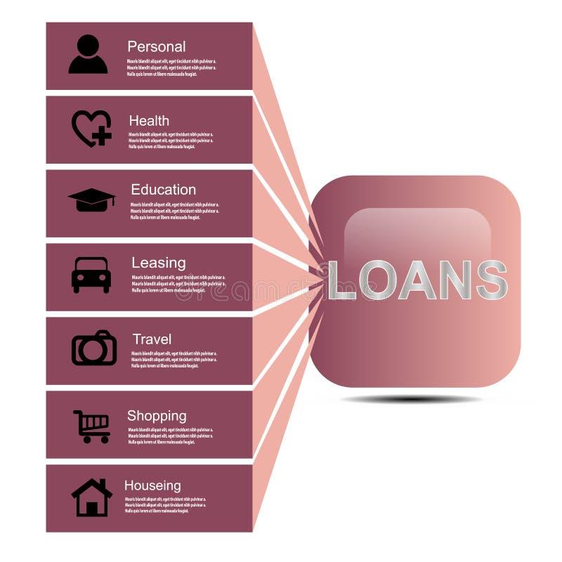 lening-1 stock illustratie