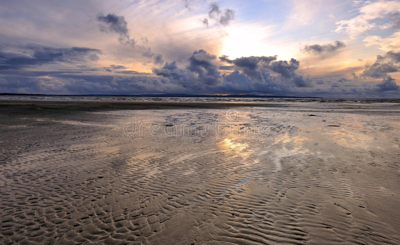 LEnniscrone Beach royalty free stock image