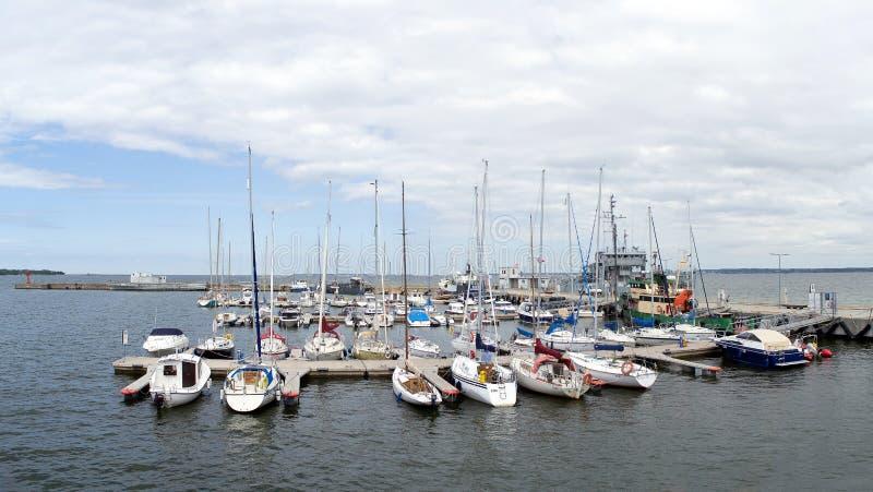 Lennusadam harbour, Tallinn, Estonia stock photos