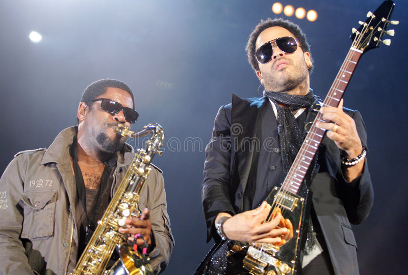 Lenny Kravitz royalty free stock photography