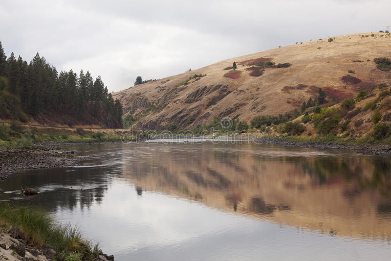lenore Айдахо clearwater около взгляда реки стоковая фотография rf