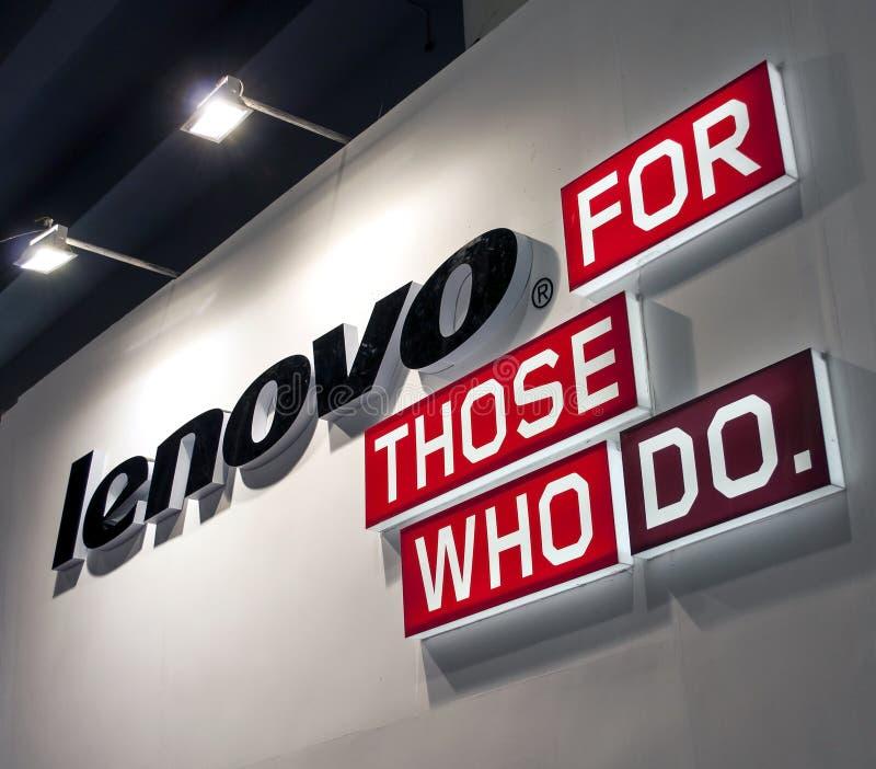 Lenovoembleem stock afbeeldingen