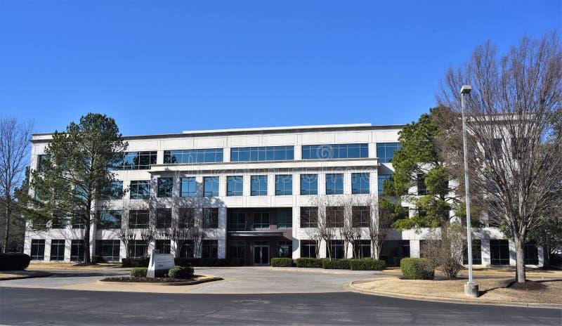 Lenox Biznesowego parka budynek, Memphis, TN zdjęcie royalty free