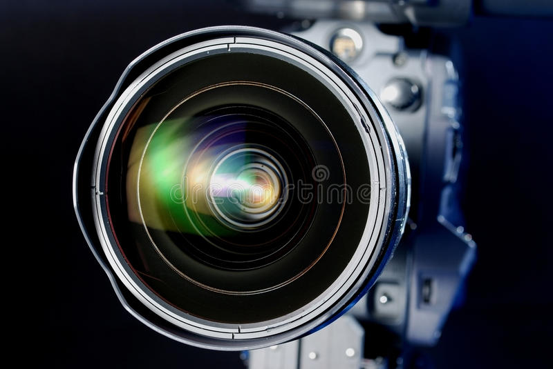 Download Lens stock image. Image of detail, lens, reflection, definition - 10240149
