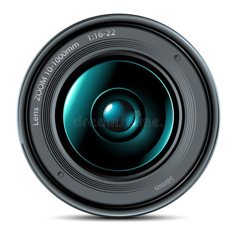 Lens vector illustration