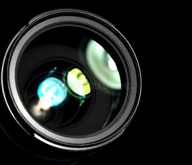 The Lens Royalty Free Stock Images