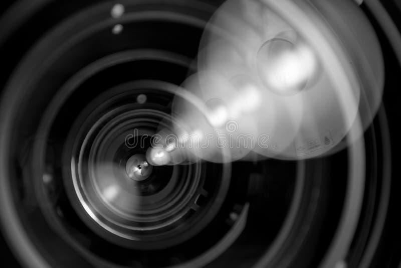 Lens av fotomål royaltyfria bilder