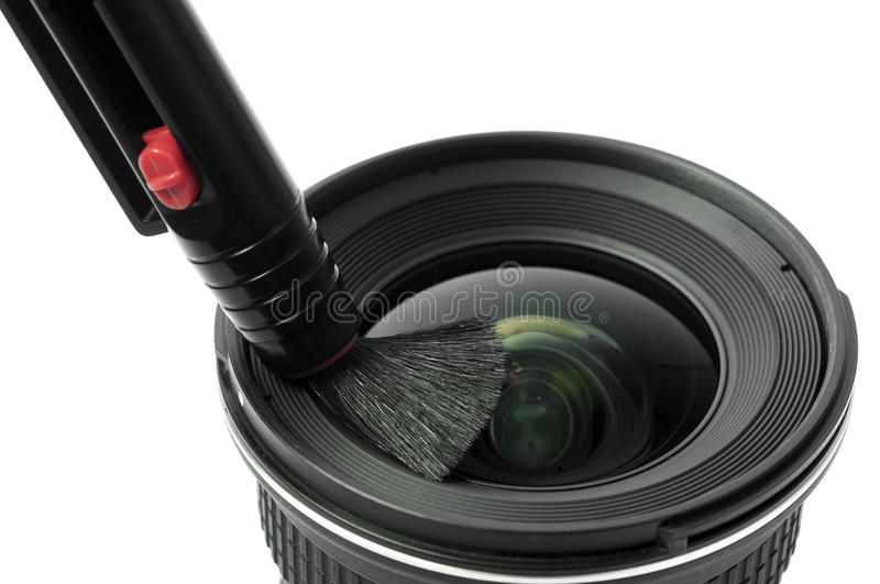 Download Lens and brush stock image. Image of cleaner, gear, cleanup - 36119483