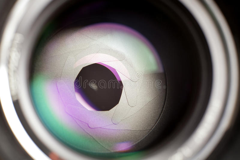 Lens stock photography