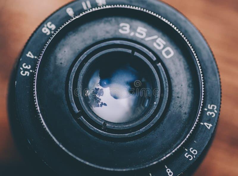 Lens för Dslr kameror royaltyfria foton