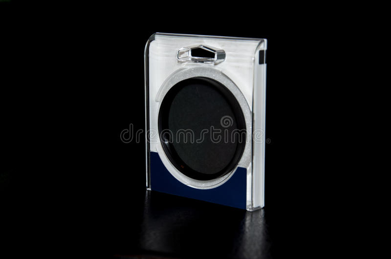 Lens filter royalty free stock photo