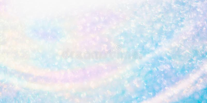 Lens flare and bokeh of sunny skies early in the morning royalty free stock photo