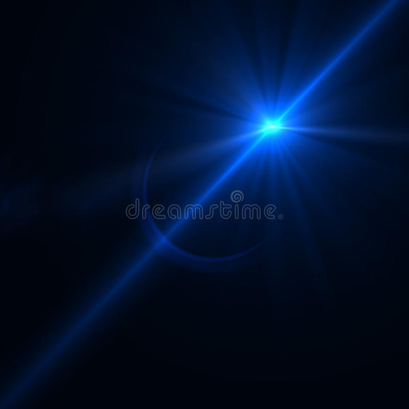 Free Lens Flare Effect Over Black Background Royalty Free Stock Photos - 41014218