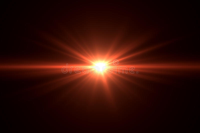 Lens flare effect royalty free stock photo
