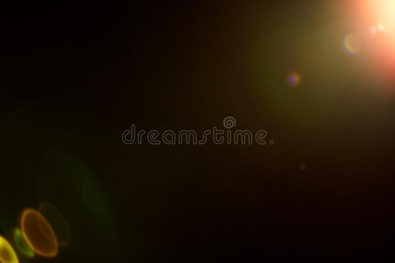 Lens flare overlay royalty free stock images