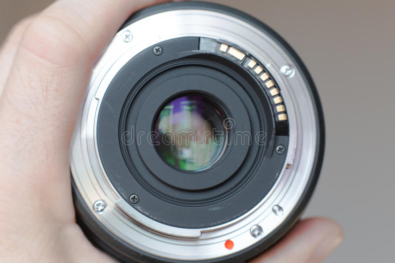 Lens royalty free stock image