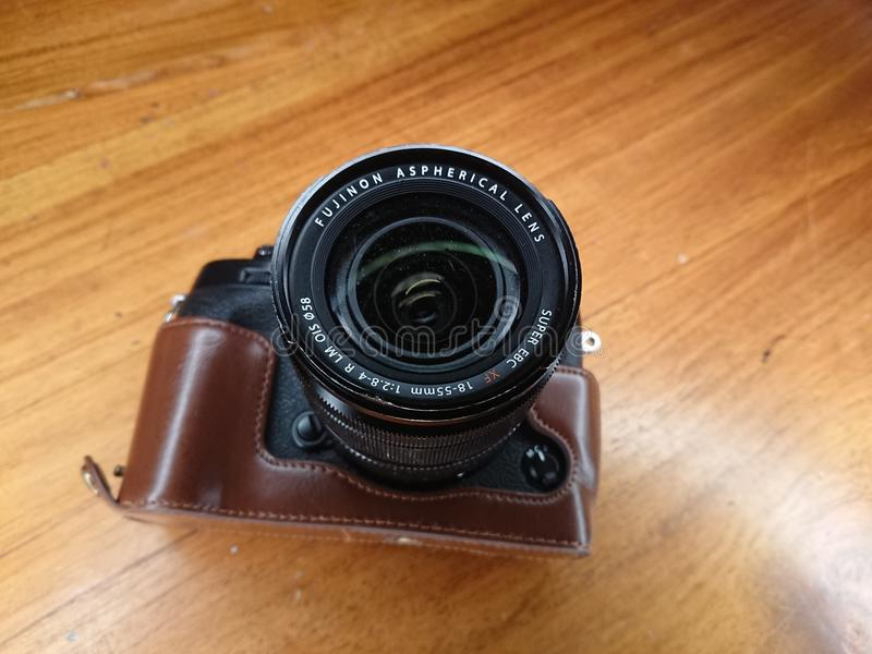 Lens van de Fujinon de Asferische Camera stock foto