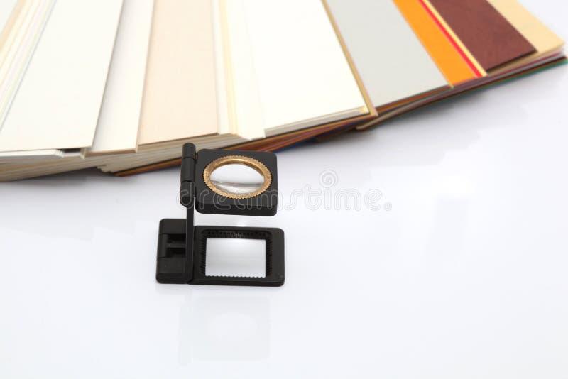 lense δείγματα εγγράφου στοκ φωτογραφία με δικαίωμα ελεύθερης χρήσης