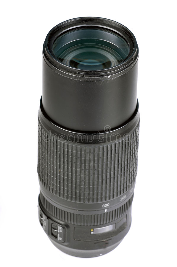 Lense do zoom imagens de stock royalty free