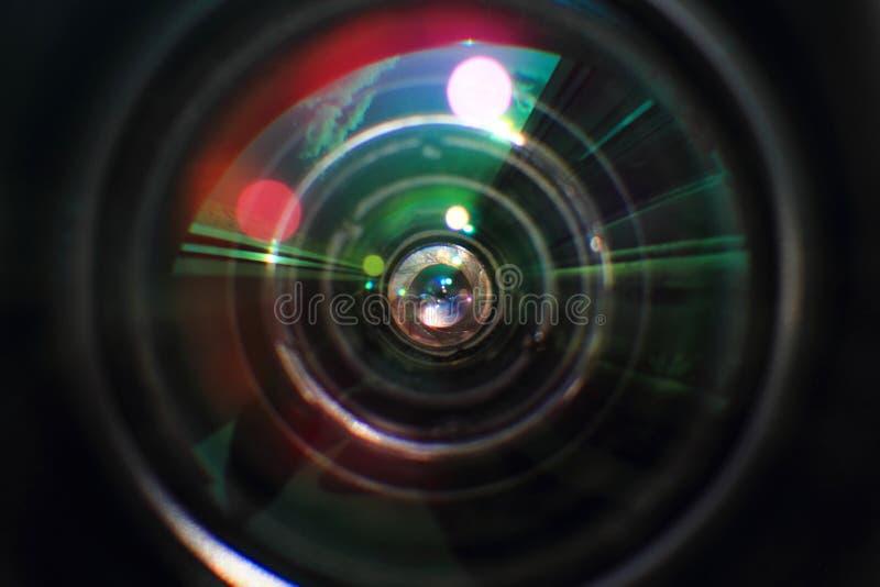 Lense glass background royalty free stock photos