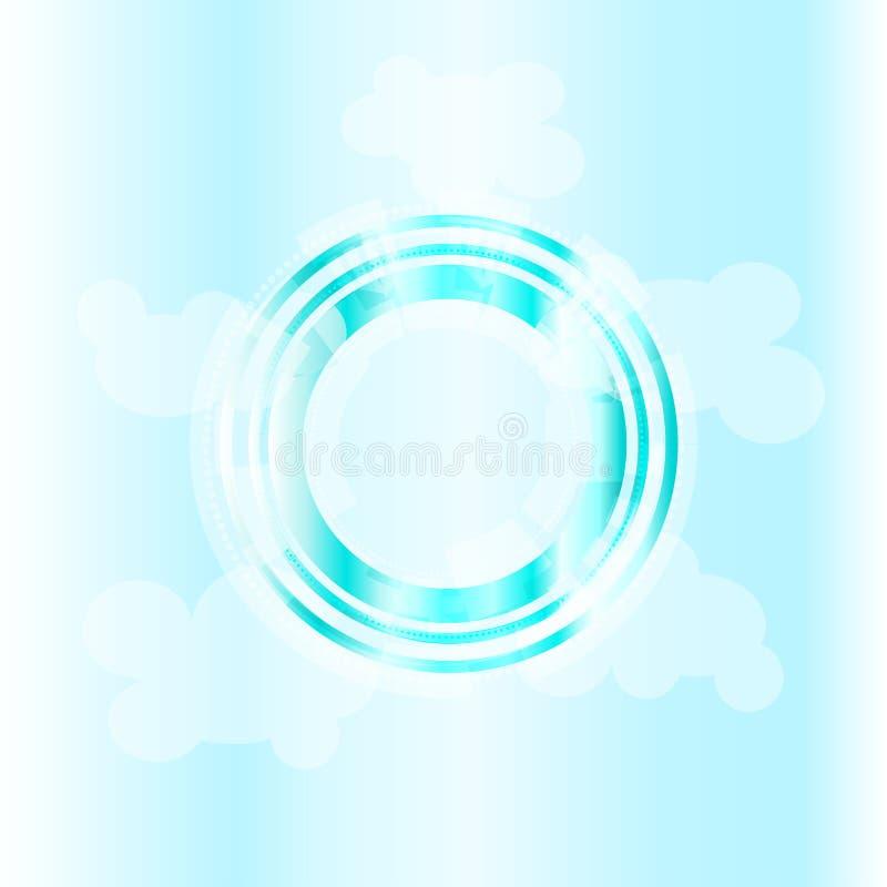 Lense på himlen arkivbild
