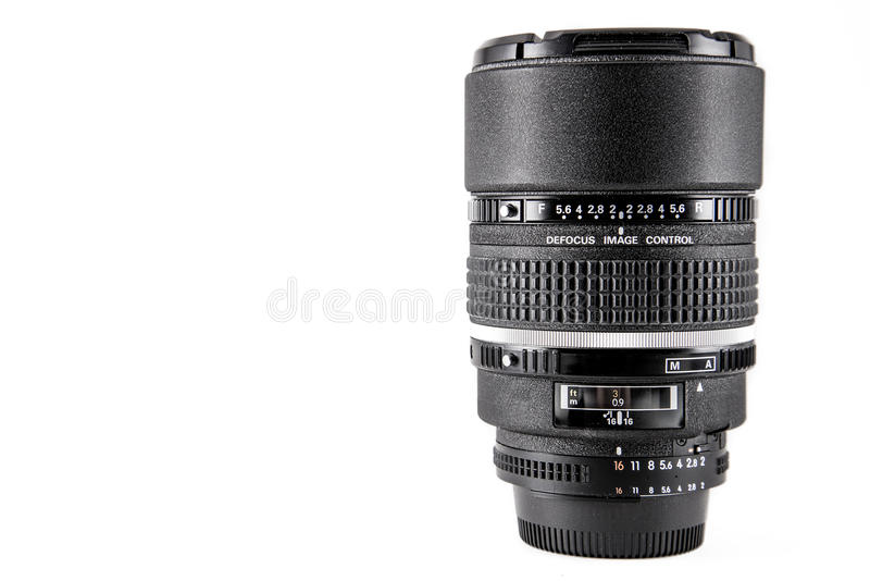 Lense professionale della macchina fotografica fotografia stock libera da diritti