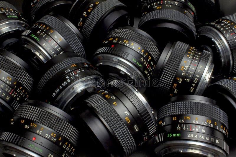 Lenses royalty free stock photo
