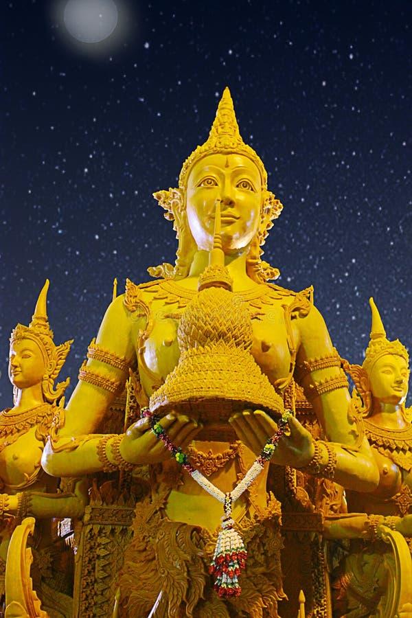 Lent Day budista imagen de archivo libre de regalías