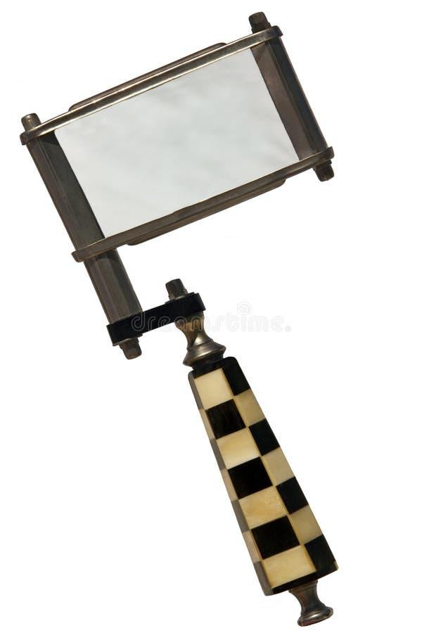 Lente d'ingrandimento antica immagini stock libere da diritti