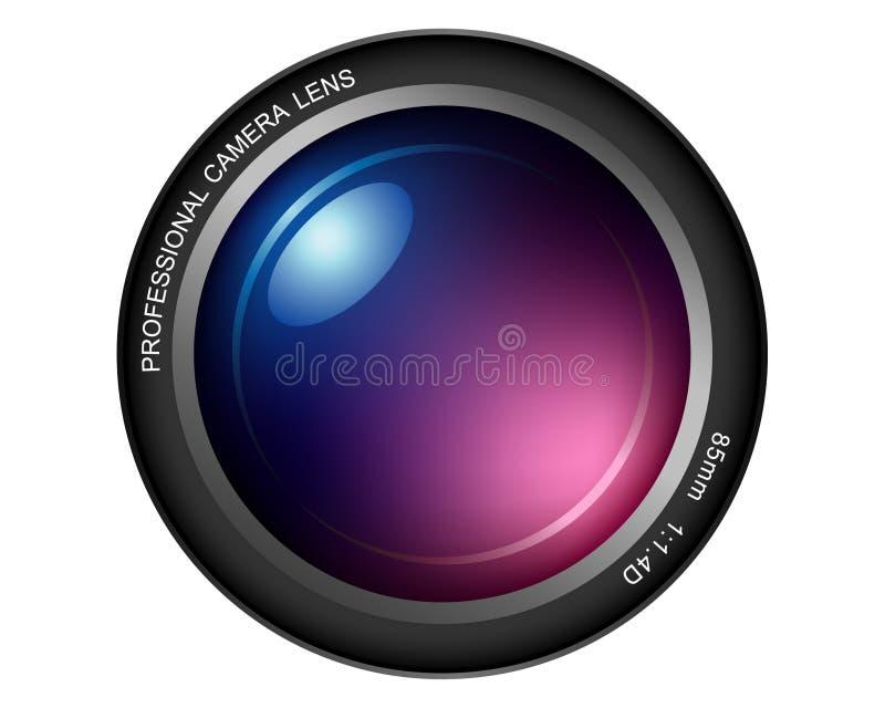 Lente de câmera ilustração royalty free
