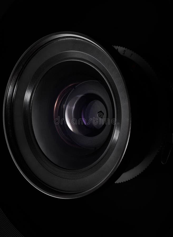 Lente de câmera foto de stock
