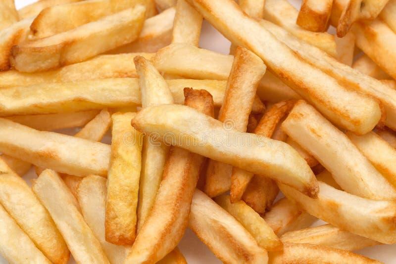 Lente macro do uso francês das fritadas closeup fotografia de stock royalty free