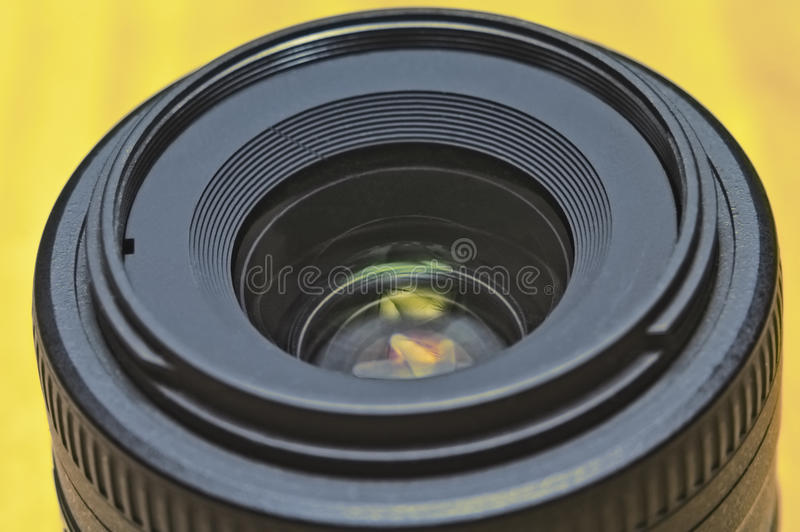 Lente principal de DSLR fotografia de stock