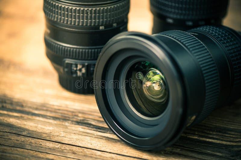 Lente profesional de la fotografía digital imágenes de archivo libres de regalías