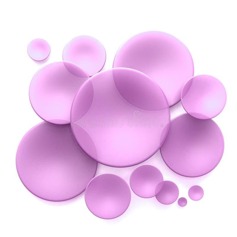 Lentes púrpuras libre illustration
