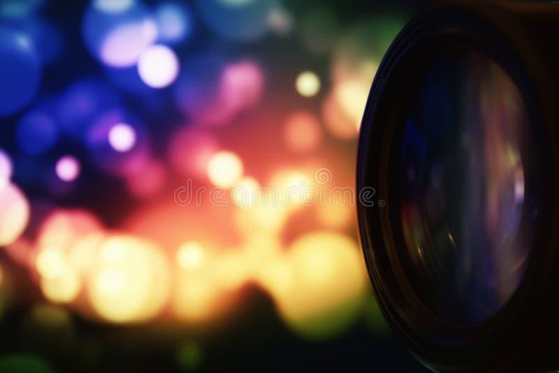 Lenti professionali di fotografia degli accessori della macchina fotografica fotografie stock libere da diritti