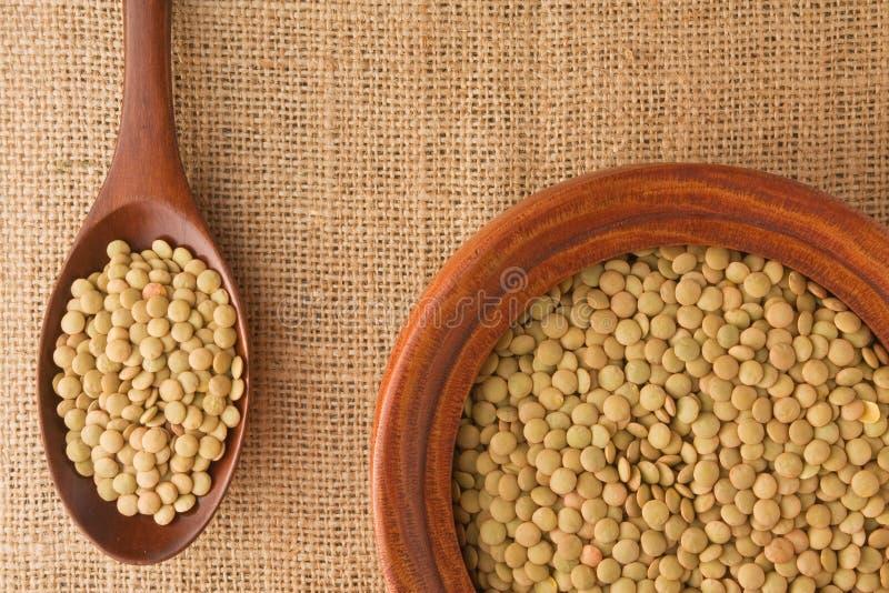 Download Lentil stock photo. Image of life, lentil, gourmet, burlap - 16644032