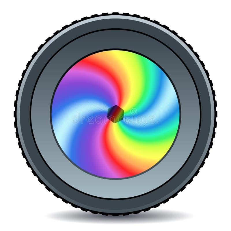 lentille illustration de vecteur