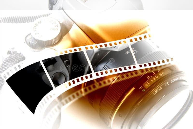 Lentille et appareil-photo photos stock