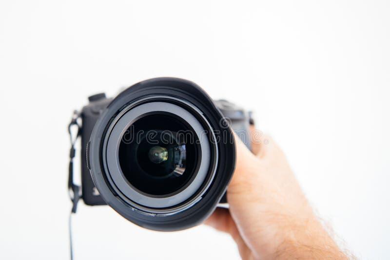 Lentille GH5 de dg Vario-Elmarit 8-18mm de Panasonic Leica photographie stock libre de droits