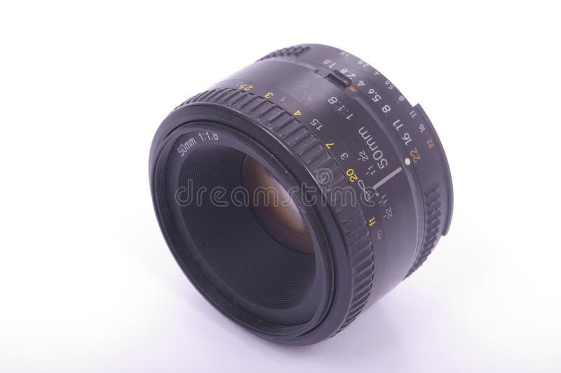 Lentille moderne de SLR images stock