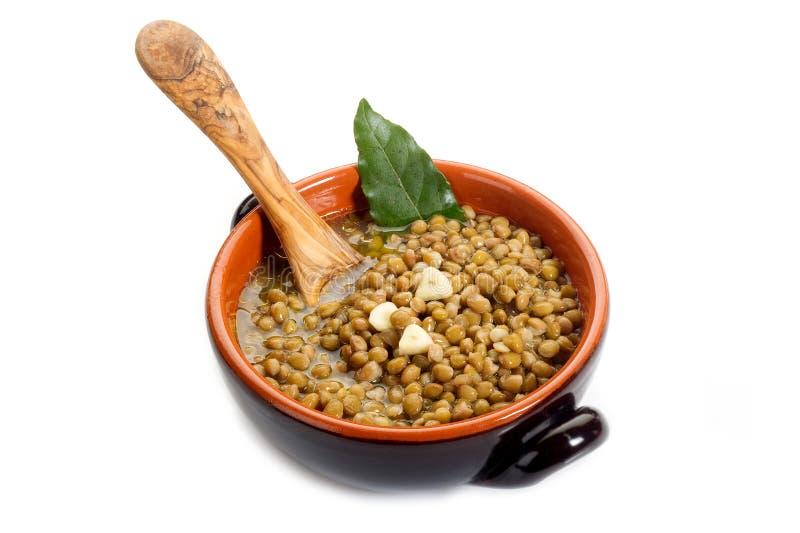 Lentils soup royalty free stock photos