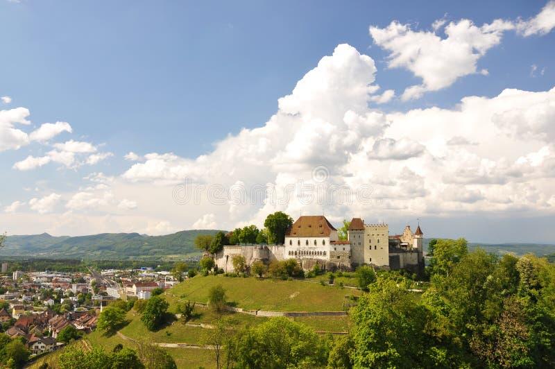 Lenzburg, Svizzera fotografie stock
