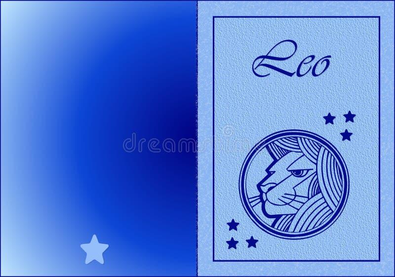 Leo Card stock photography