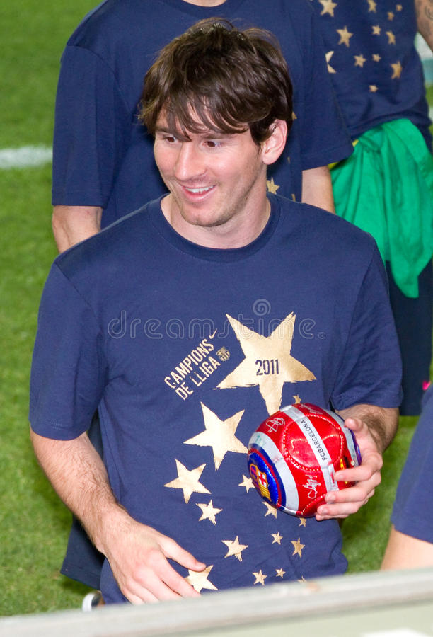 Leo Messi stock images