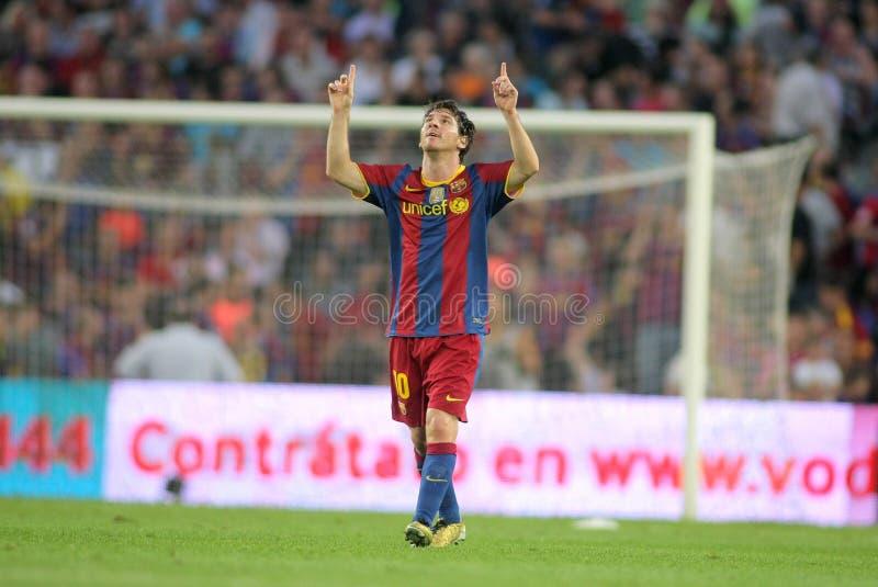Download Leo Messi de FC Barcelona foto de stock editorial. Imagem de jogo - 16871973