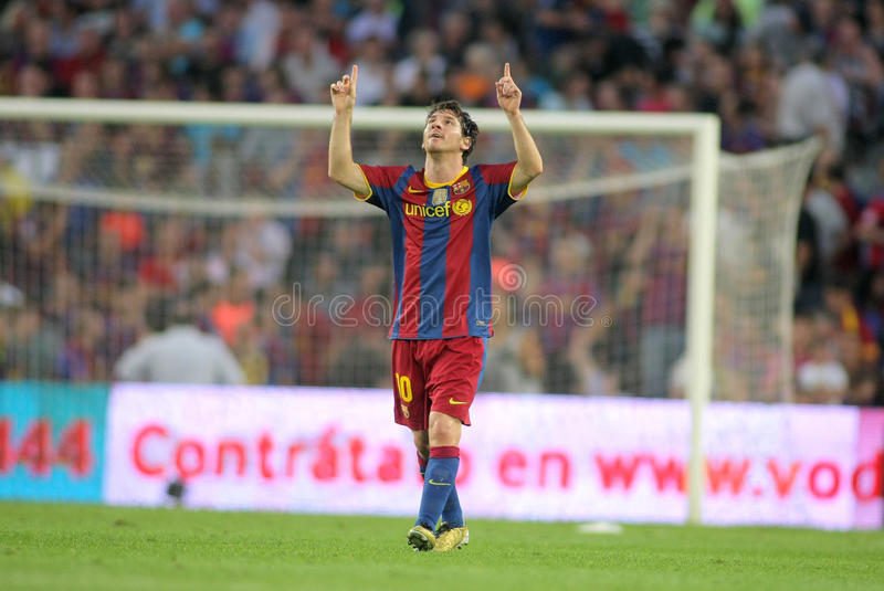 Download Leo Messi of FC Barcelona editorial stock photo. Image of division - 16871973